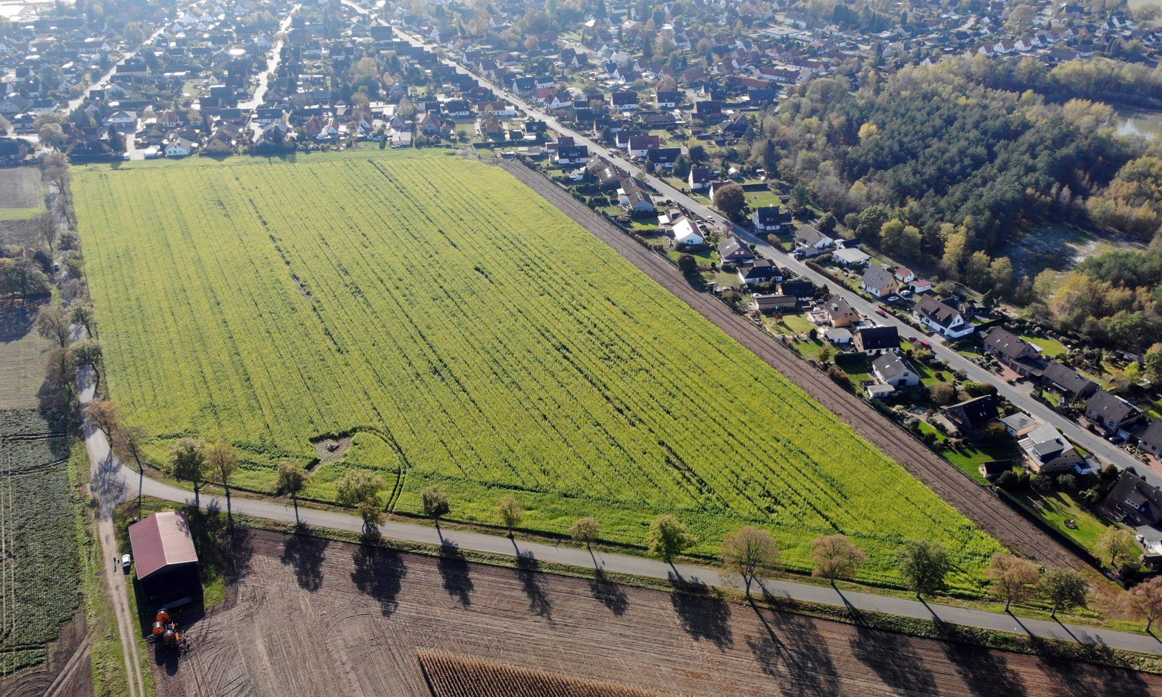 Garßen, Blaues Land (Foto: Bauland Report)